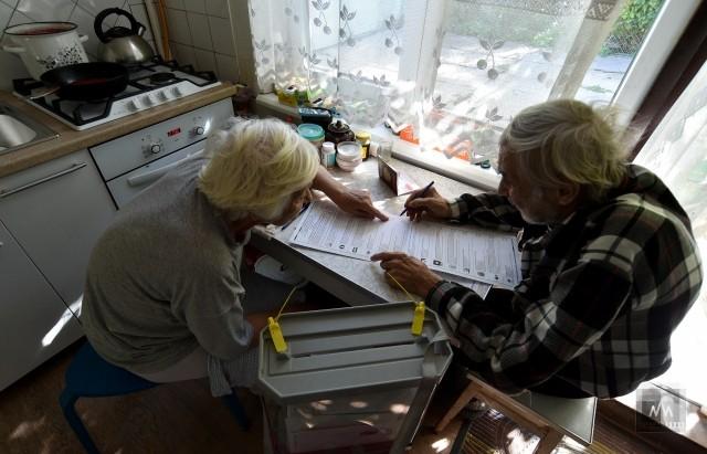 Голосование на дому в Симферополе