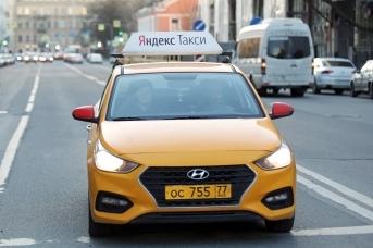«Яндекс.Такси». Дарья Драй © ИА REGNUM