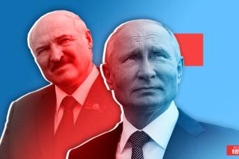 Александр Лукашенко и Владимир Путин. Иван Шилов © ИА REGNUM