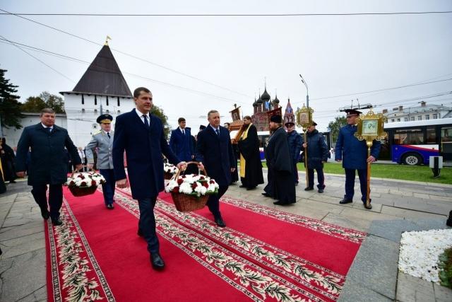 Открытие дня города в Ярославле