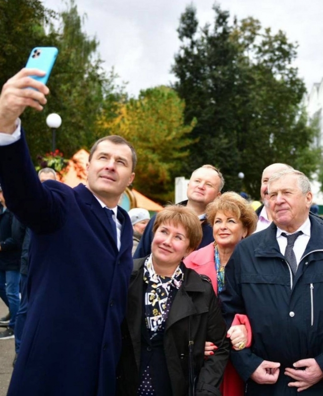 Селфи с мэром Ярославля