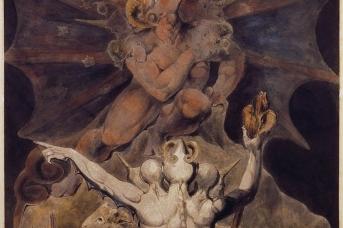 Уильям Блейк. Число зверя есть 666. 1805