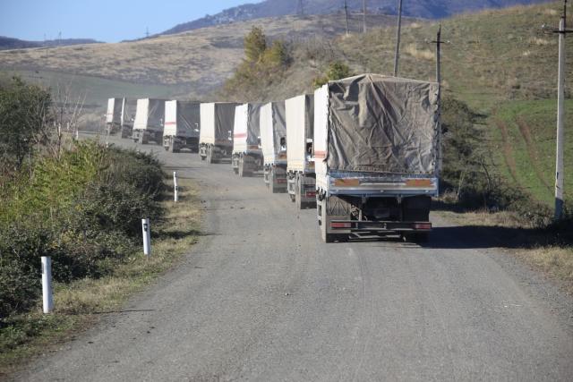 Гуманитарная помощь для Нагорного Карабаха.