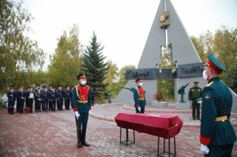 В Ульяновске предали земле останки красноармейца Виктора Ивановича Храмова