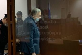 Олег Соколов в суде 27 сентября 2021 года