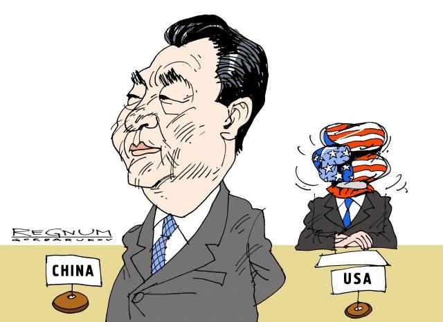 США и Китай. Александр Горбаруков © ИА REGNUM