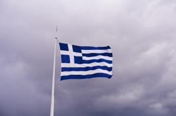 Флаг Греции. George E. Koronaios
