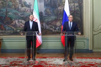 Министр иностранных дел России Сергей Лавров провел в Москве встречу с глава МИД Ирана Хосейном Амиром Абдоллахианом. МИД России