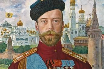 Борис Кустодиев. Император Николай II. 1915