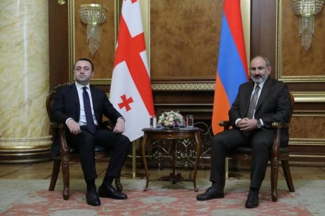 Премьер-министр Грузии прибыл в Ереван с рабочим визитом. Gov.ge
