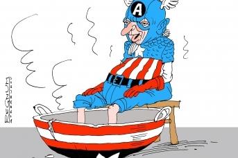 Капитан Америка. Александр Горбаруков © ИА REGNUM