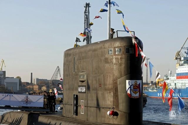 Дизель-электрическая подводная лодка проекта «Магадан»