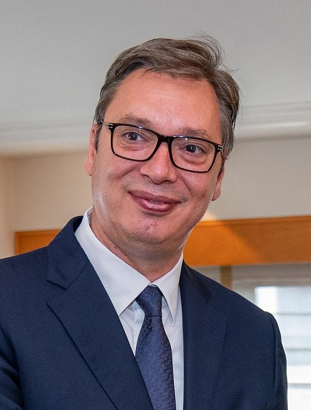Александр Вучич, президент Сербии