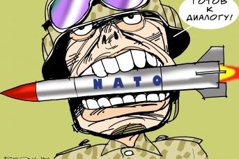 Готовность. НАТО. Александр Горбаруков © ИА REGNUM