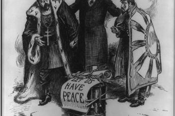 Рузвельт в роли посредника между Россией и Японией