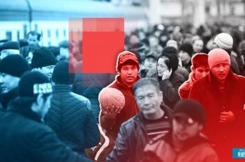 Мигранты. Иван Шилов © ИА REGNUM