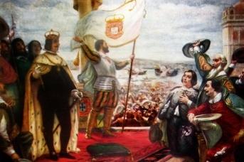 Велосо Сальгадо. Провозглашение Иоанна, герцога Браганса королём Португалии. 1640