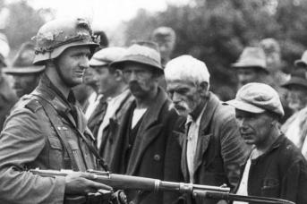 Солдат вермахта в Югославии. 1941