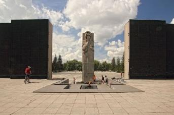 Монумент Славы. Новосибирск