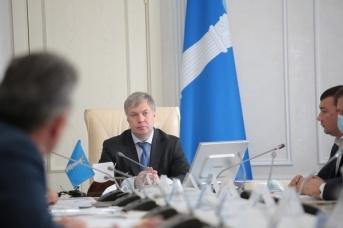 Совещание под председательством губернатора Ульяновской области Алексея Русских