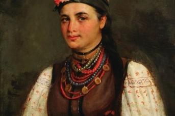 Николай Пимоненко. Портрет девушки-украинки (Портрет Марии Нестеренко). 1896
