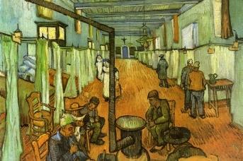 Больница в Арле. 1889