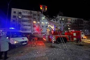 На месте взрыва дома в Набережных Челнах